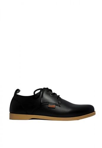 D-Island black D-Island Shoes Casual Black High Qualty Leather Black 559E1SH2494E82GS_1