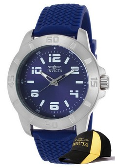 Pro Diver Men 45mm Case Watch 21859 with FREE Baseball Cap