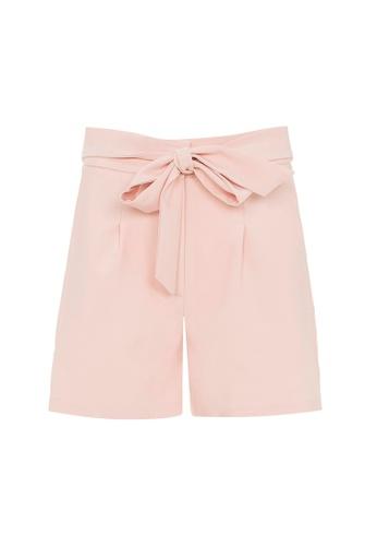Auden Cavill 米褐色 Auden Cavill Women Tie Waist Shorts FEE79AAFB19213GS_1