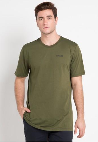hurley green Dri-Fit One & Only 2.0 T-Shirt 18DA0AA0B66681GS_1