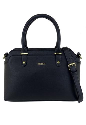Mel&Co black Top Handle Satchel 7ECA3AC6D98F04GS_1