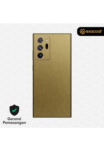 Exacoat Galaxy Note 20 Ultra 3M Skins Titanium Series - Titanium Gold E2F0EES7AFFFE5GS_1