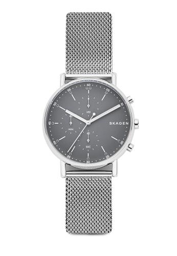 Skagen silver Skagen Signatur Silver Watch SKW6464 54A35AC6805A02GS_1