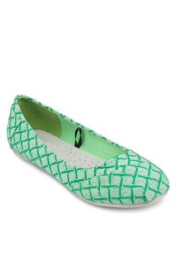 Nayarit 幾何圖形esprit門市地址平底鞋, 女鞋, 芭蕾平底鞋
