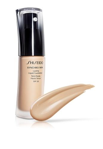 Shiseido beige Shiseido Makeup Synchro Skin Lasting Liquid Foundation, G1 30ml SH514BE0GMERSG_1