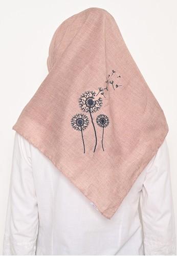 My Daily Hijab pink Hijab Segi 4 Voal Zaffron Dandelion Rosybrown (Hijab Only) 4AABCAA7BA518EGS_1