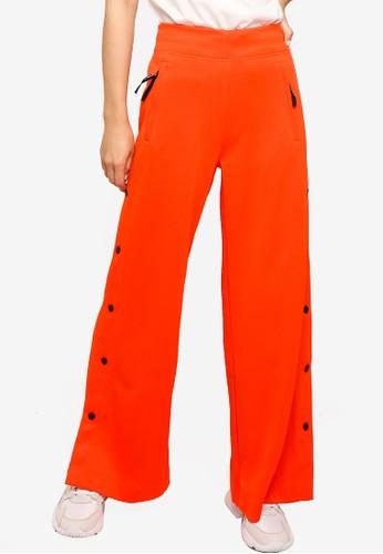ADIDAS orange karlie kloss flared pants 6460FAA9AE7BE2GS_1