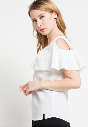 X8 white Anna Blouse X8323AA51YPKID_1