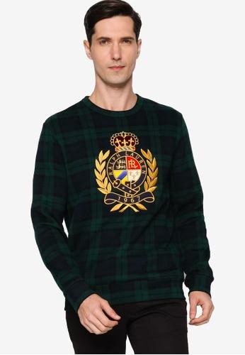 Polo Ralph Lauren multi Long Sleeve Knit Heritage Fleece Sweater D1696AAE169E4AGS_1
