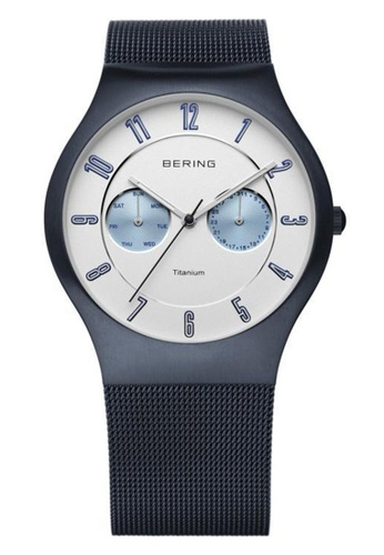 Bering black Classic 11939-729 Red 39 mm Men's Watch A5C22AC7F176BDGS_1