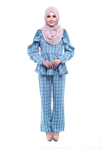 Voila Set-S from Rasa Sayang in Blue