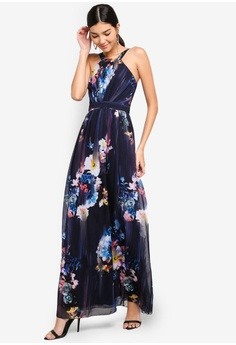 2fb4fffe1d3 11% OFF Little Mistress Floral Blur Maxi Dress S  150.90 NOW S  133.90 Sizes  6