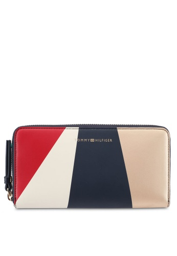 Tommy Hilfiger multi TH EFFORTLESS LRG ZA WALLET GE TO861AC0SYHBMY_1