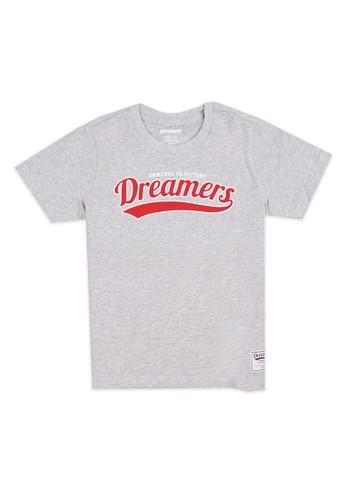 Giordano grey Dreamers Junior Print Tee 59F10KAF4A4471GS_1