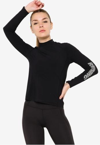 Anta 黑色 C100 長袖T恤 EEBC2AA35841D0GS_1
