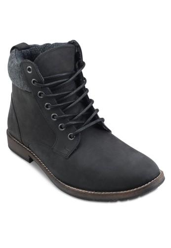 Saluesprit童裝門市te 羊毛口皮革短靴, 鞋, 鞋