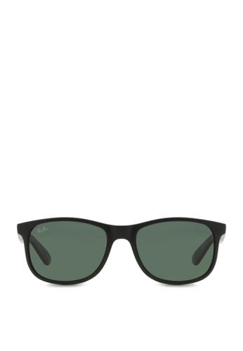 89d3bf82e5 Ray-Ban black Andy RB4202 Sunglasses RA370GL04SFNSG 1