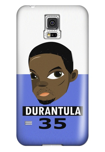 Wonder Cover black and white and brown and blue Durantula Matte Hard Case for Samsung Galaxy S5 WO617AC30ZJXPH_1