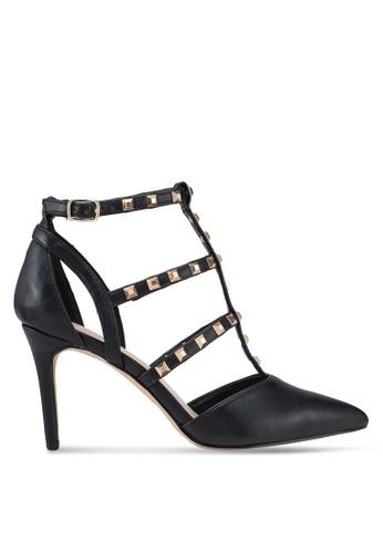 ALDO 黑色 金屬感高跟鞋 9CE7ASH0C84E9CGS_1