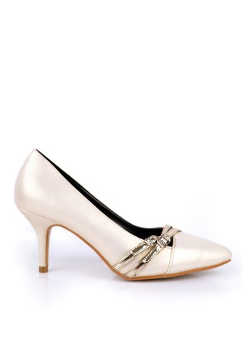BETTINA beige Bettina Heels Brea Beige BE073SH60QJNID_1