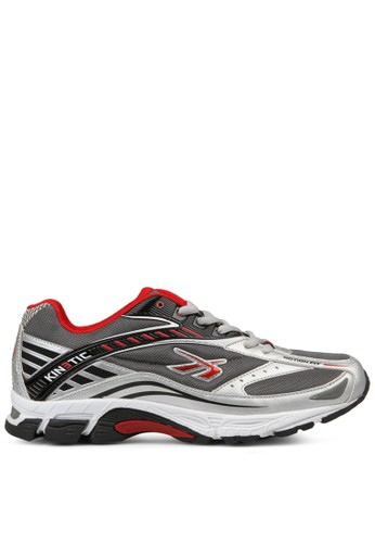 Spotec multi and silver and grey Kinetic Men Running Shoes SP567SH98NXLID_1
