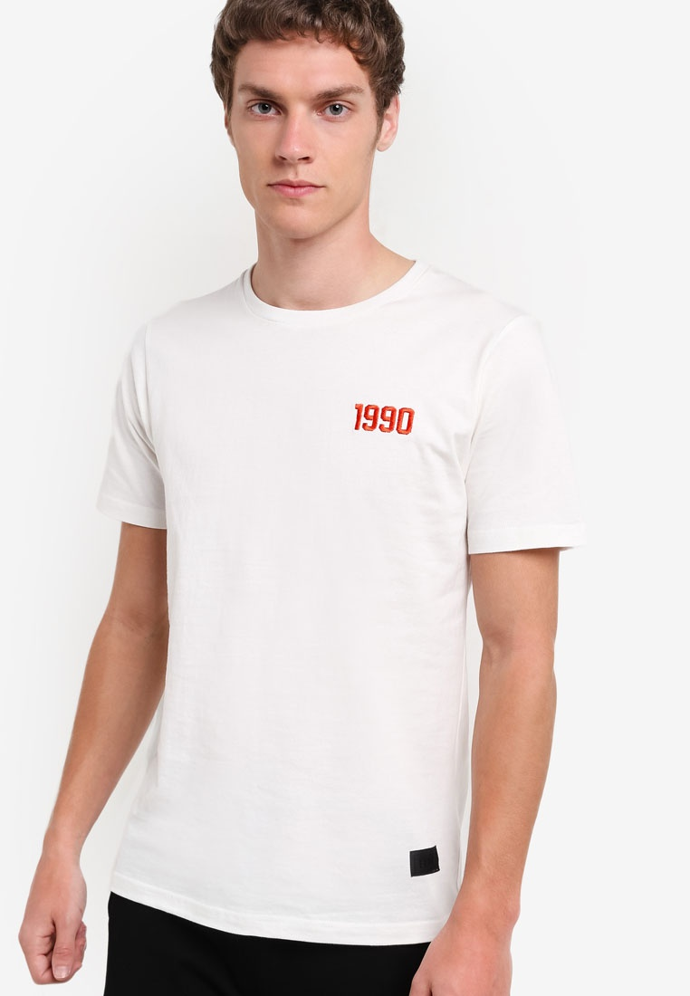 1990 T White IMP Shirt Flesh 8Hr8q1