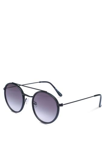 Rubi black Demi Top Bar Metal Sunglasses 71714GL2030A39GS_1