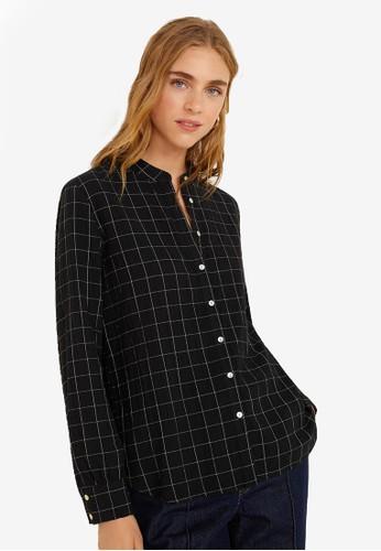 Mango black Check Shirt 11CD3AA4E5B540GS_1