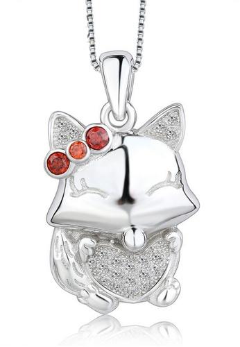LYCKA silver LPP88157 S925 Silver Necklace 6C4E0AC21513ACGS_1