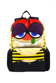 Unisex Printed Casual Daypacks Bag (Multicolor)