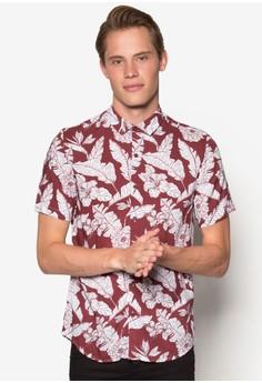 夏威夷風短袖休閒襯衫