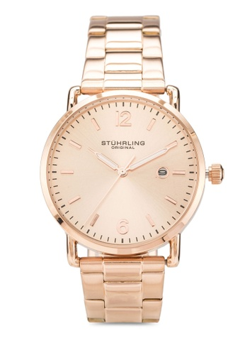 Stuhrling Original gold Oslo 3902 Watch 65F9EACB3915DFGS_1