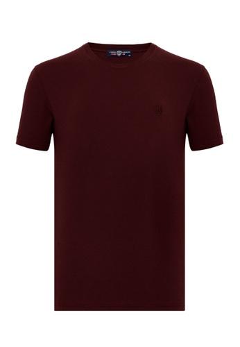 Jimmy Sanders Jimmy Sanders Men's Plain T-Shirt C6A58AA9B87DD4GS_1