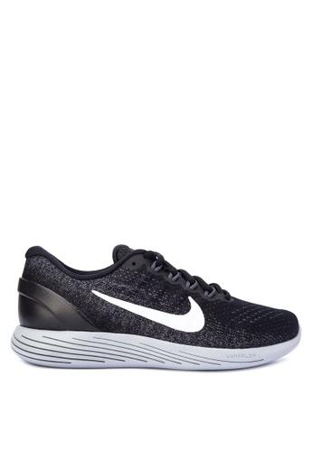 Nike black Women's Nike LunarGlide 9 Running Shoes NI126SH0STSLMY_1