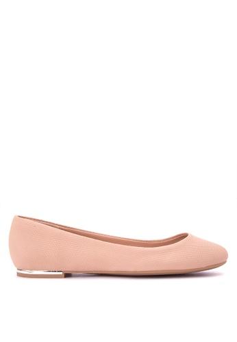 Call It Spring beige Fibocchi Ballet Flats CA427SH0JLMLPH_1