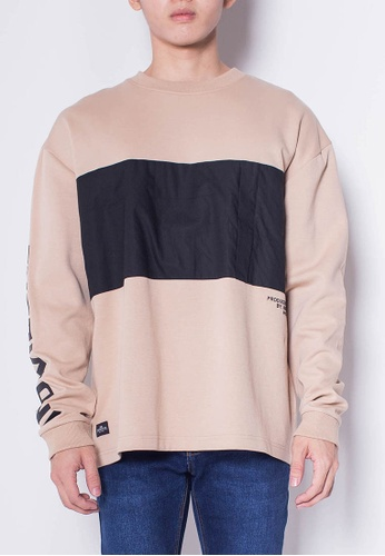 SUB Men Color Block Sweatshirt DA80DAA39971EAGS_1
