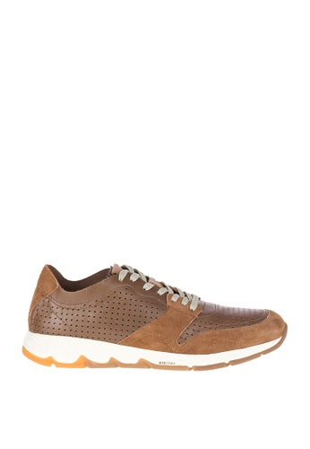 Hush Puppies brown Ts Field Sprint Sneakers FDB21SHC8ECD96GS_1