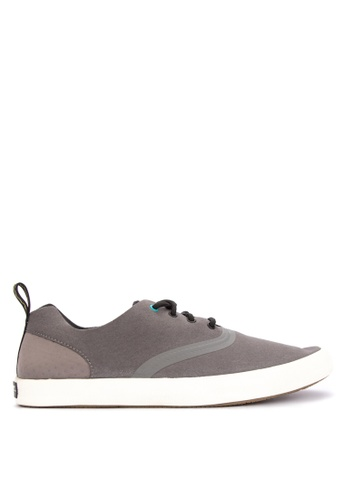 Sperry grey Flex Deck CVO Sneakers 2ACC6SH8D67DBDGS_1