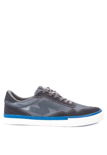 SONNIX grey Barc Vulc Q118 Sneakers with Free Exclusive Sonnix Backpack 3F256SH27BD795GS_1