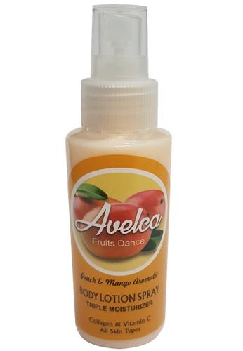 Avelca Avelca Peach & mango Aromatic Body Lotion Spray C3FB1BE87A3B35GS_1