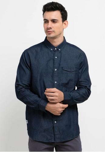 Lois Jeans blue Cotton Shirts 62810AA8394432GS_1