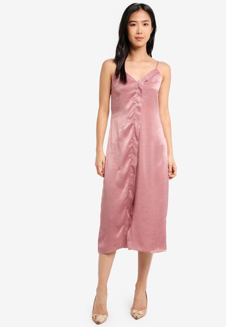 Dress ZALORA Fit Pink Relaxed Cami WwxX4aEP