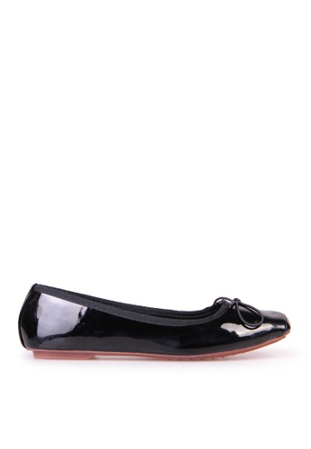 Sunnydaysweety black Big Sale Item - New Temperament Small Bow Comfortable Flat Shoes C12211BK SU219SH0F9RTSG_1