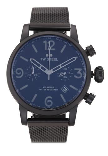 TW Steel black Maverick MB33 Watch 31FA6AC7D8B010GS_1