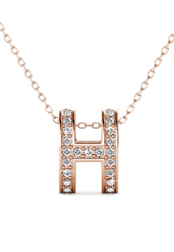 Her Jewellery gold Her Jewellery Honey Pendant (Rose Gold) - Embellished with Crystals from Swarovski® 708C0ACAF15E20GS_1