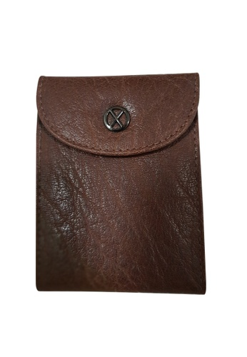 Oxhide brown Oxhide Leather 24 Cards Holder 69EFAAC0D66B93GS_1