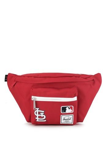 Herschel red Seventeen Hip Pack - MLB 4EA16AC6F84A47GS_1