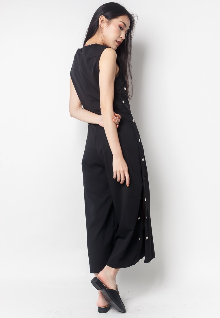Midi Button 2nd Side ZOEY Jumpsuit Edition Black wUUI4qTt