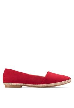 【ZALORA】 編織鞋底懶人鞋