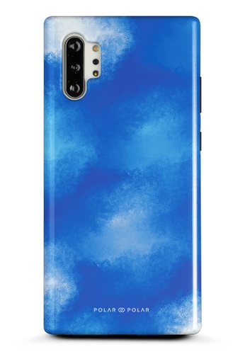 Polar Polar blue Clouds in Summer Samsung Galaxy Note10 Plus Dual-Layer Protective Phone Case (Glossy) 82D82ACDDF01D7GS_1